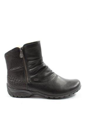 Rieker Winter boots zwart casual uitstraling