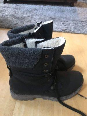 Rieker Western Laarzen zwart