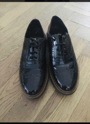 Rieker Wingtip Shoes black