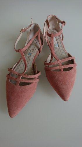 Boden Ballerina's met bandjes rosé