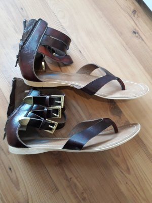 Arizona Sandales à lanière brun