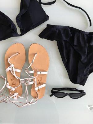 Riemchen-Sandalen, Gladiator Sandals, Leder