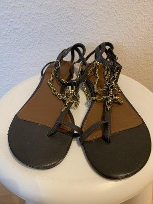 Riemchen Sandalen mit Ketten-Riemchen
