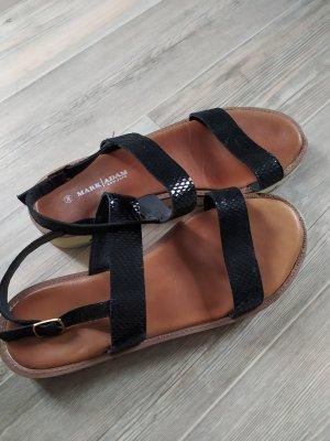 Riemchen Sandalen von Mark Adam gr. 39 schwarz