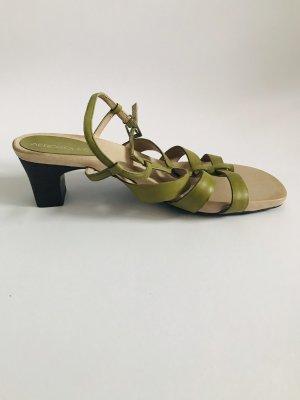 Aerosoles Sandały z rzemykami trawiasty