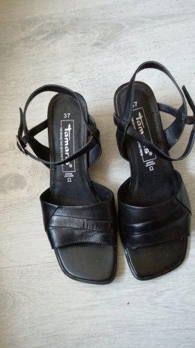 """Riemchen-Sandaletten aus Leder, von """"Tamaris"""", in Gr. 37"""