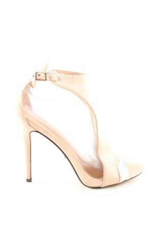 Ideal Riemchen-Sandaletten creme Business-Look