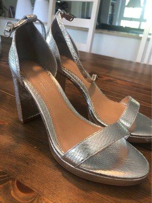 Head over heels Sandały z rzemykami srebrny