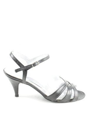 Riemchen-Sandaletten schwarz Elegant