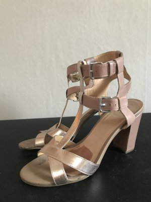 Akira Strapped High-Heeled Sandals nude-rose-gold-coloured