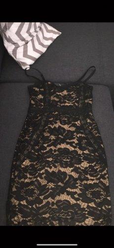 Riemchen Spitze Kleid