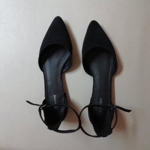 Graceland Ballerina's met bandjes zwart