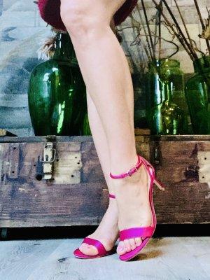 Esprit Tacones de tiras rosa
