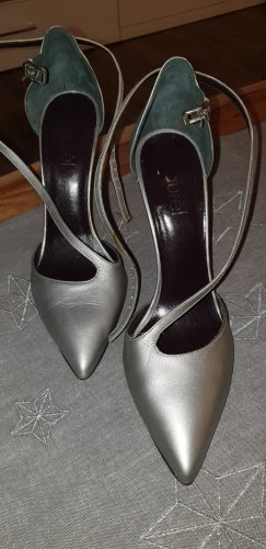 Laurèl Strapped pumps silver-colored-grey