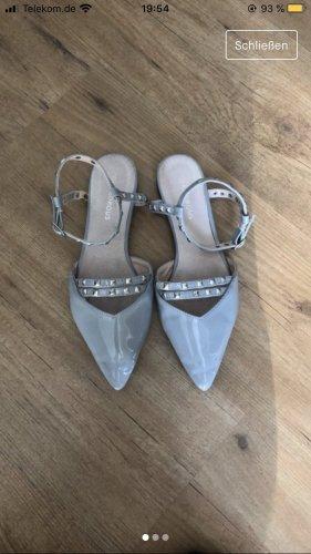 Glamorous Sandalo con cinturino grigio ardesia-azzurro
