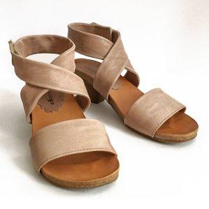 Air Step Sandales confort marron clair cuir