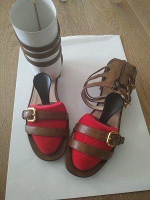 Prada Strapped pumps multicolored leather