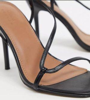 ASOS DESIGN Sandalen met bandjes zwart