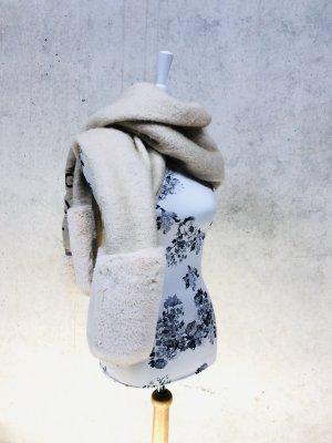 Riesengroßer kuscheliger ZARA Schal mit Tasche NEU mit Etikett