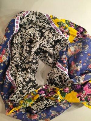 Riesiges Dreieckstuch, Halstuch mit 3 verschiedenen Stoffen mit UK-Flagge - NEU und nie getragen