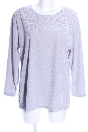 Rigany Camicia oversize grigio chiaro Stampa leopardata stile casual