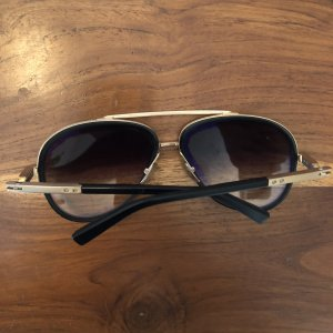 Dita Sunglasses Lunettes aviateur noir-doré