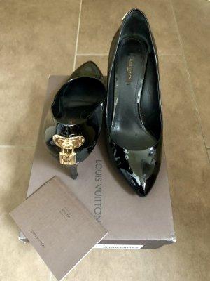 Louis Vuitton Hoge hakken zwart-goud