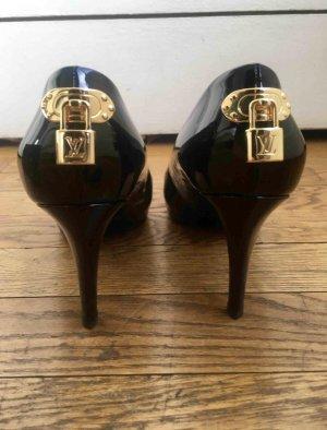 ⭕️riginal Louis Vuitton Lack Pumps Schuhe