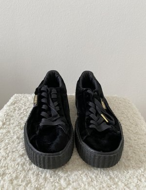 Rihanna Fenty Creeper Puma Sneaker Schuhe Schwarz Samt 39 Neu
