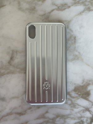 Rimowa Pokrowiec na telefon komórkowy srebrny-jasnoszary
