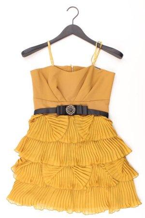 Rina Scimento Abendkleid Größe M neu mit Etikett Neupreis: 159,95€! mit Gürtel Träger gelb