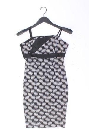 Rina Scimento Abendkleid Größe S gepunktet Träger schwarz aus Acetat