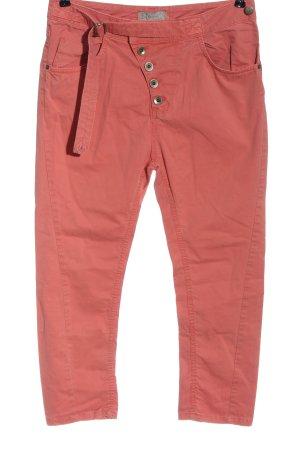 Rina Scimento Boyfriend Trousers pink casual look
