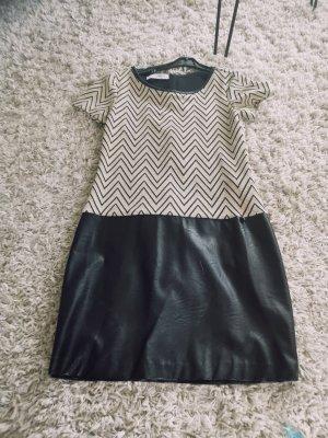 Rina Scimento Kleid, Cocktailkleid, Größe S 36, schwarz Gold, NEU