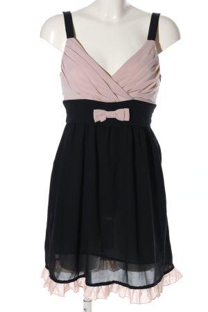 Rina Scimento Minikleid schwarz-pink Elegant