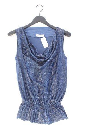 Rina Scimento Top Größe S blau aus Polyester