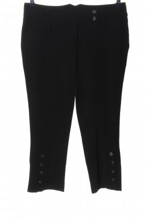 Rinascimento 3/4-broek zwart casual uitstraling