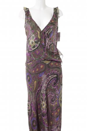 Rinascimento Babydoll Dress abstract pattern extravagant style