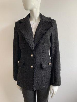 Rinascimento Blazer in tweed nero-bianco