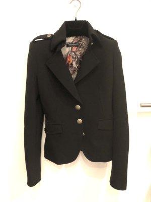 Rinascimento Blazer en tweed noir