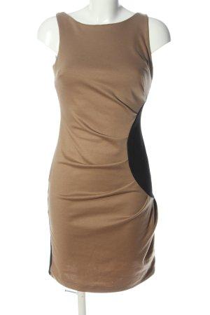 Rinascimento Pencil Dress bronze-colored-black casual look