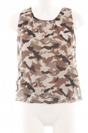 Rinascimento Blouse topje camouflageprint casual uitstraling