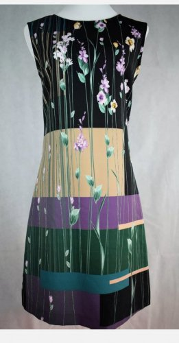 Rinascimento Damen Freizeit Kleid gemustert Gr. S 34 36