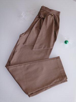 Rinascimento Pantalón abombado marrón claro Algodón