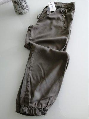 Rinascimento Pantalón tipo suéter caqui Poliéster