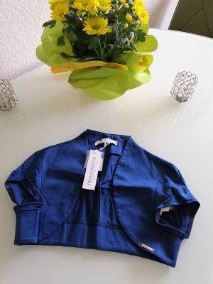 Rinascimento Damen Sommer Bolero-Jäckchen blau Gr. S 34/36