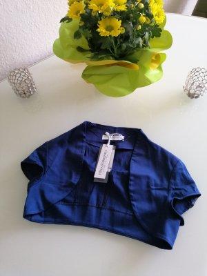 Rinascimento Damen Sommer Bolero-Jäckchen blau Gr. XS 32