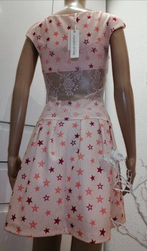 Rinascimento Damen Sommer Kleid mit Sternen-Muster Gr. M 36/38