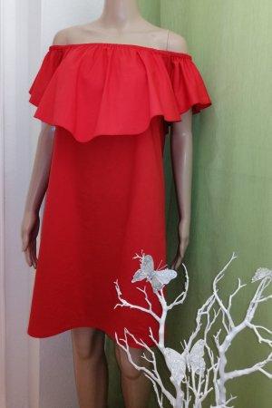 Rinascimento Damen Sommer Kleid Rot Gr. L 38