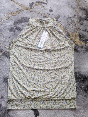 Rinascimento Top basic grigio chiaro-giallo pallido Poliestere